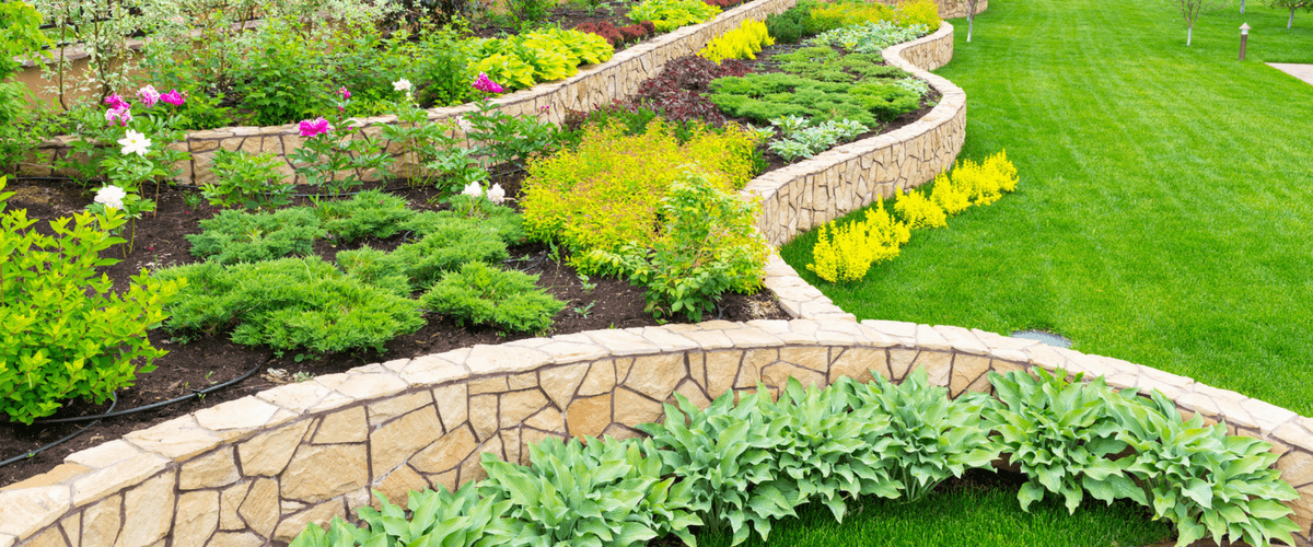 If Your Landscape Design Incorporates Natural Rock Or Boulders, A Rock  Retaining Wall System Is Ideal For Creating A Cohesive Design.